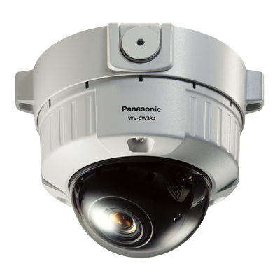 Panasonic WV-CW334 day/night fixed dome camera with 540TVL resolution