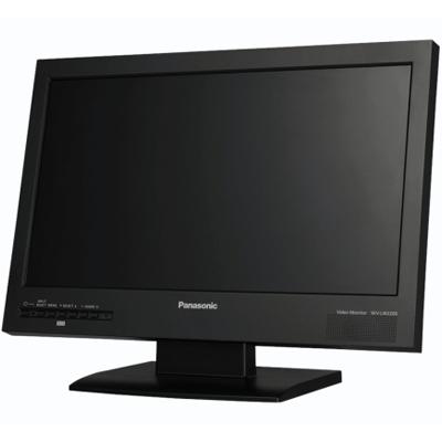 Panasonic WV-LW2200 CCTV monitor with full HD quality and ECO mode for power saving