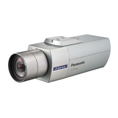 Panasonic WV-NP1004 megapixel MPEG-4/JPEG dual streaming network camera