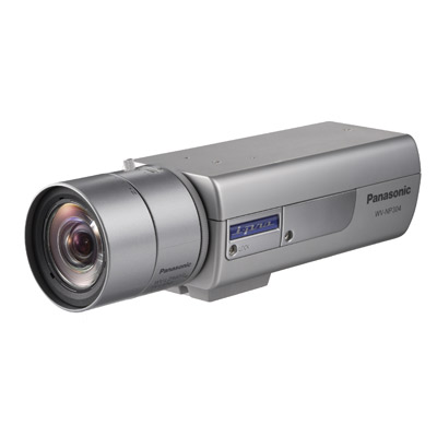 Panasonic's new WV-NP304 i-Pro megapixel network camera with 1.3 megapixel CCD
