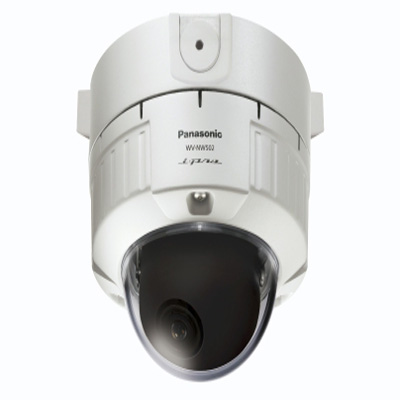 Panasonic WV-NW502 external true day / night dome camera with video motion detection