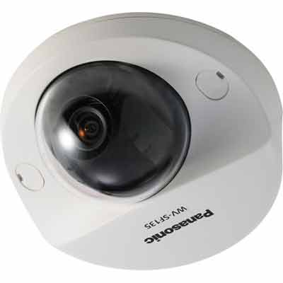 Panasonic WV-SF135 HD dome network camera