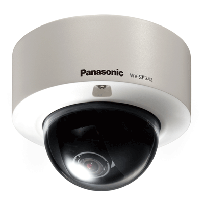 New IP domes: Two feature packed vandal resistant domes, the WV-SF346 and WV-SF342 from Panasonic