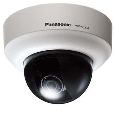 Panasonic WV-SF346E 1.3 megapixel fixed dome network camera