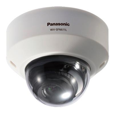 Panasonic WV-SFN611L HD day/night IP dome camera