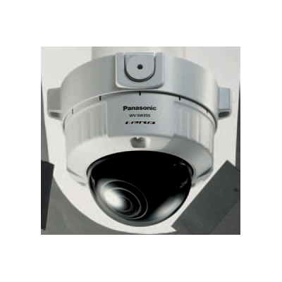 Panasonic WV-SW355 true day / night dome camera with analogue monitor output