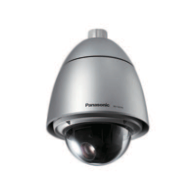 Panasonic WV-SW395 dome camera with full duplex bi-directional audio