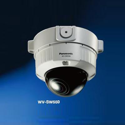 Panasonic WV-SW559 full HD vandal resistant dome network camera