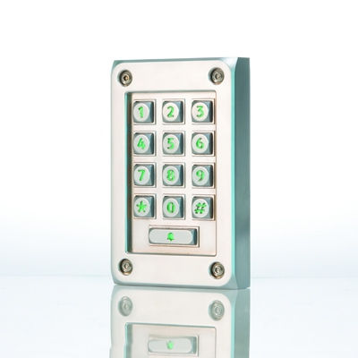 Paxton Access releases vandal resistant metal keypad