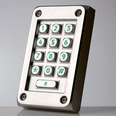 Paxton Access 521-583 vandal resistant compact metal keypad