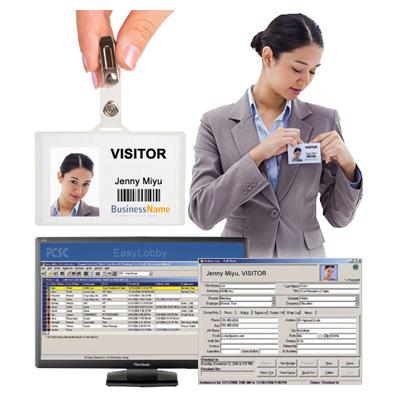 PCSC EasyLobby Secure Visitor Management (SVM) software