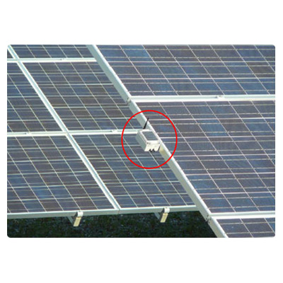 PCSC LazerLok fibre optic security system for preventing solar panel theft