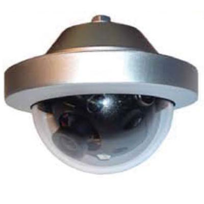 Pecan D053C(S) external colour dome with flush mount