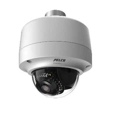 Pelco IMP219-1ERI 2MP colour monochrome mini IP dome camera