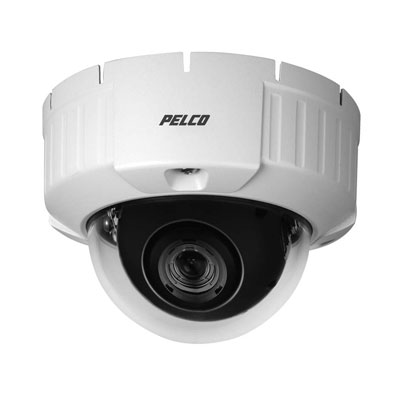 Pelco IS50-DNV10SX true day / night rugged outdoor minidome camera