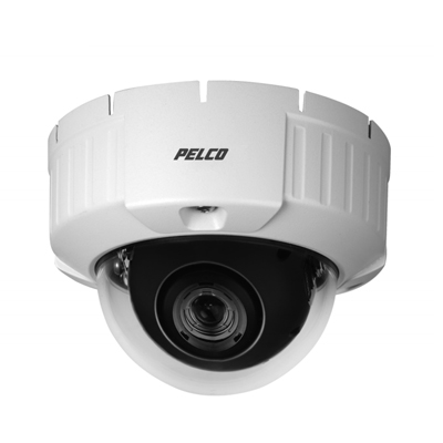 Pelco IS51-CHV10FX rugged putdoor mini dome, surface and flush mount