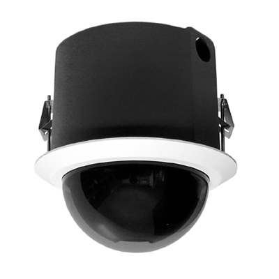 Pelco S6220-FW1 1/2.8-inch day/night IP dome camera with 20x optical zoom
