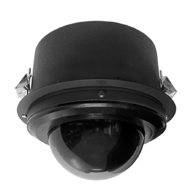 Pelco S6220-YB1 1/2.8-inch day/night IP dome camera with 20x optical zoom