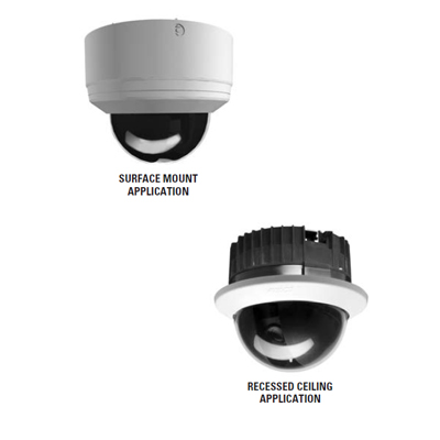 Pelco SD4-W1-X colour internal PTZ dome camera