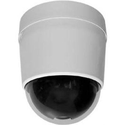 Pelco SD427-HPE1-X true day / night external heavy duty dome camera - pendant mount grey clear