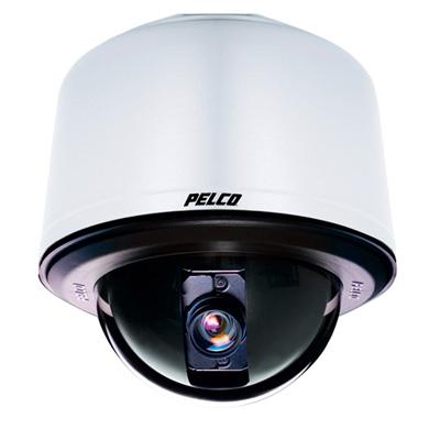 Pelco SD427-PG-0-X  true day / night PTZ dome xamra - pendant mount grey smoked