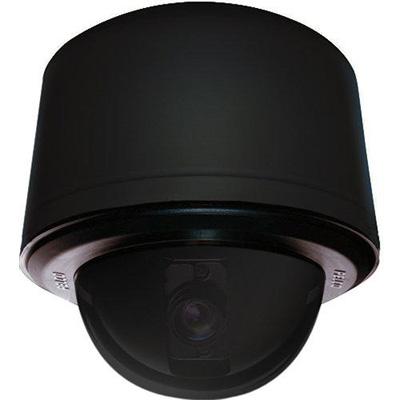 Pelco SD4E27-PB-0-X day / night internal pendant black smoked PTZ dome camera