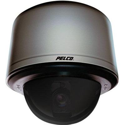 Pelco SD4E27-PG-0-X internal pendant grey smoked PTZ dome camera