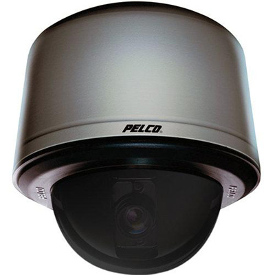 Pelco SD4E35-PB-0-X internal black smoked PTZ dome camera