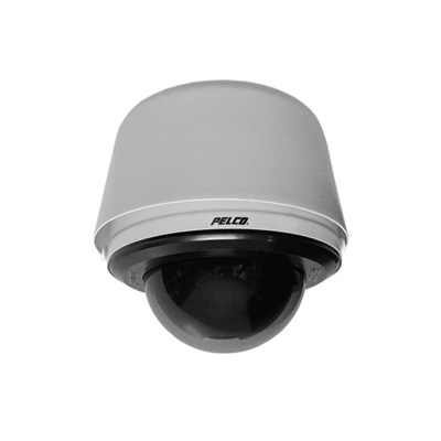Pelco SD4N-W0-X mini IP dome camera with surface / flush mount