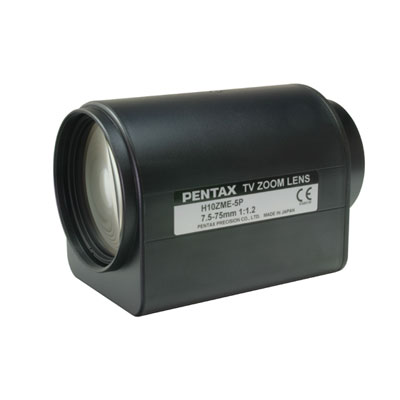 Pentax C60702WX zoom lens with 2 motors and auto iris