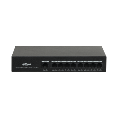 Dahua Technology PFS3009-8ET-65 8-Port PoE Switch (Unmanaged)
