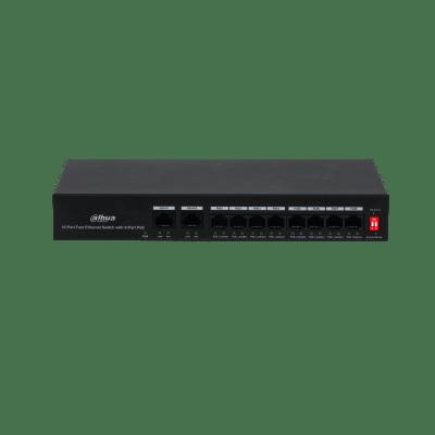 Dahua Technology PFS3010-8ET-65 10-Port Fast Ethernet Switch With 8-Port PoE