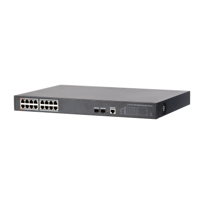 Dahua Technology PFS4218-16GT-190 16-Port PoE Gigabit Managed Switch