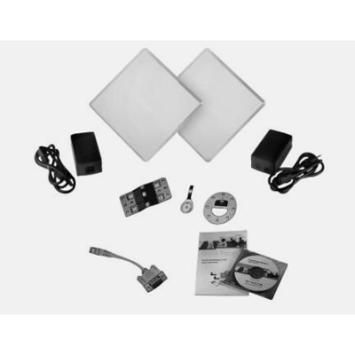 Proxim Wireless Tsunami 5054-QB-LR CCTV transmission system with an integrated 23-dBi antenna