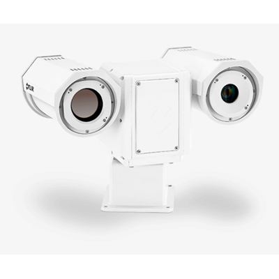 FLIR Systems PT-606Z HD, 26-106mm, 640x480, PAL, 8.3 HZ, US HD visible and thermal Pan/Tilt