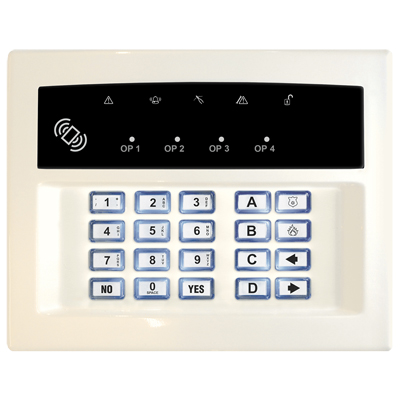 Pyronix LEDRKP/WHITE-WE Wireless Arming Keypad