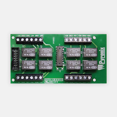 Pyronix PCX ATE8R with 8 relay outputs