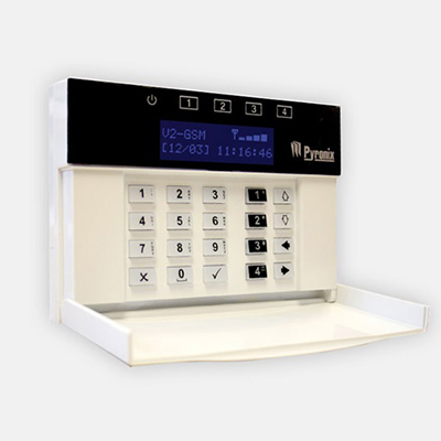 Pyronix V2 GSM Speech Dialer for sending out alarm voice messages or SMS messages after an activation to an input