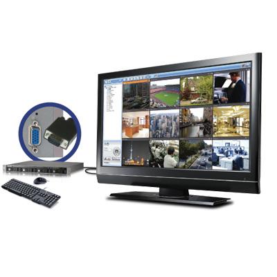 QNAP VS-4008U-RP Pro network video recorder with multi-server monitoring