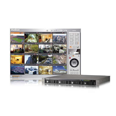 QNAP VS-4016U-RP network video recorder with digital zoom for monitoring and playback