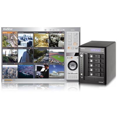 QNAP VS-5012 network video recorder with multi-server monitoring