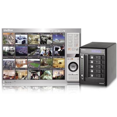 QNAP VS-5020 network video recorder with multi-server monitoring