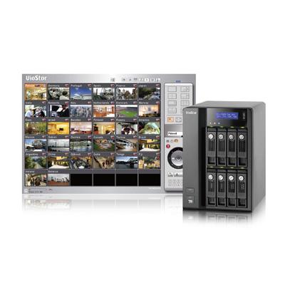 QNAP VS-8032 network video recorder with multi-server monitoring