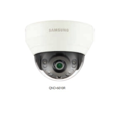 Hanwha Techwin America QND-6010R 2MP Network IR Dome Camera
