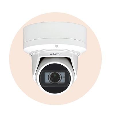 Hanwha Techwin America QNE-6080RVW 2M Network IR Flateye Camera