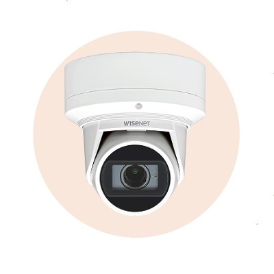 Hanwha Techwin America QNE-7080RVW 4M Network IR Flateye Camera