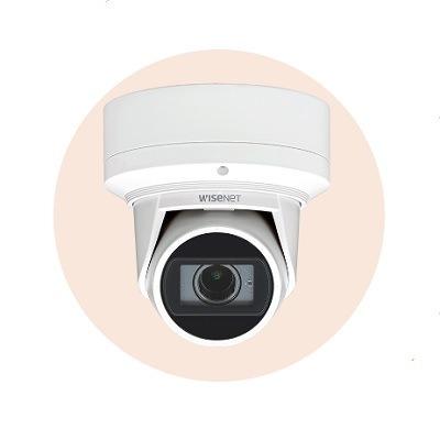 Hanwha Techwin America QNE-7080RV 4M Network IR Flateye Camera