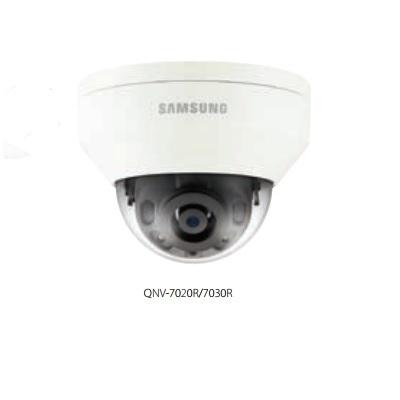 Hanwha Techwin America QNV-7020R 4M Vandal-Resistant Network IR Dome Camera