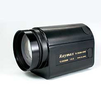 Raymax RHM20Z1025M 1/2 inch motorised zoom lens with remote iris