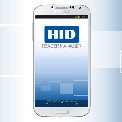 HID Reader Manager mobile application